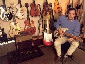Gilmour, de remate