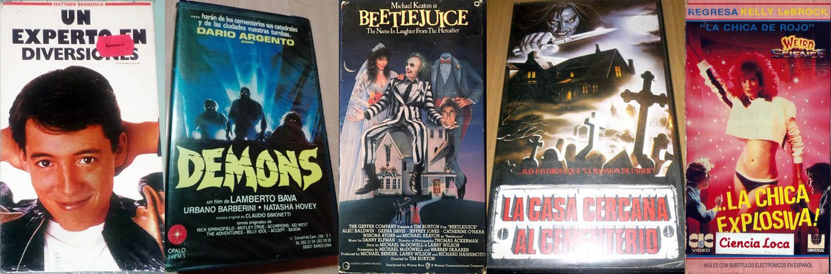 Cinco pelis en VHS para ver en casa - Radio Cantilo