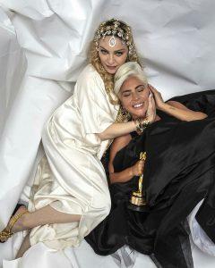 La reina del Pop se acercó a la heredera