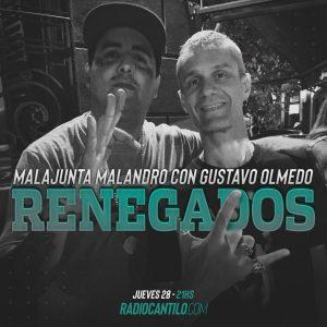 Gustavo Olmedo y Malajunta mano a mano