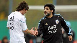 Jueves de cuentos: Maradona o Messi