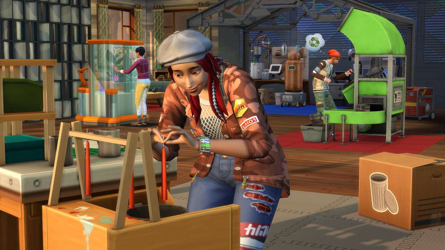 ¡Los Sims se vuelven ecológicos! - Radio Cantilo