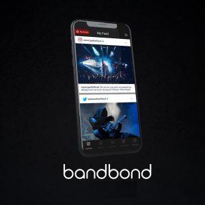 BANDBONDS, una app para metaleros