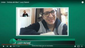 """""""Artista del Mes"""": Mano a mano con Lucy Patané"""