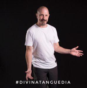 Daniel Ruggiero fue el invitado del último programa de Divina Tanguedia