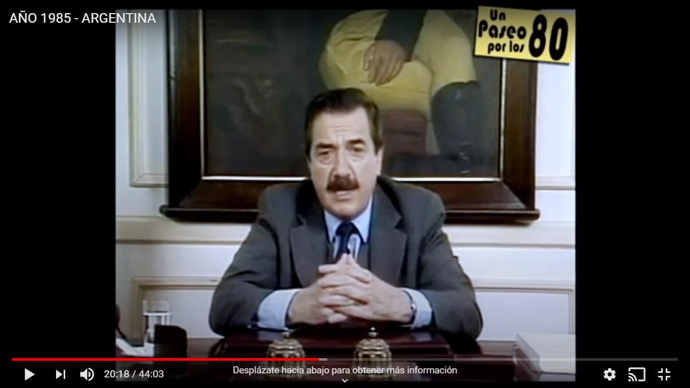 ¡Mirá la historia de Argentina bajo la lente de la tv! - Radio Cantilo