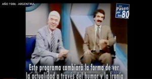 ¡Mirá la historia de Argentina bajo la lente de la tv!
