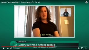 """""""Artista del Mes"""": Trevor Sensor"""